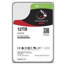 "Seagate 12TB IronWolf NAS SATA 6Gb/s NCQ 256MB Cache 3.5"" Internal Hard Drive -ST12000VN0007"