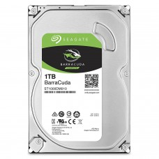 Seagate BarraCuda Internal Hard Drive 1TB SATA 6Gb/s 64MB Cache 3.5-Inch