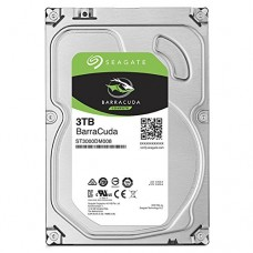 Seagate BarraCuda Internal Hard Drive 3TB SATA 6Gb/s 64MB Cache 3.5-Inch