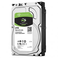 Seagate Barracuda Internal Hard Drive 8TB SATA 6Gb/s 256MB Cache 3.5-Inch