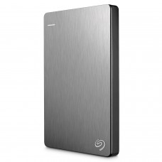 Seagate Backup Plus Slim 2TB Portable External Hard Drive USB 3.0, Silver (STDR2000201)