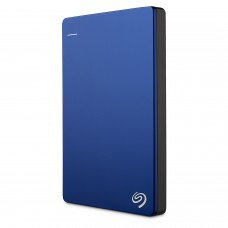 Seagate Backup Plus Slim 1TB Portable External Hard Drive USB 3.0, Blue (STDR1000202)