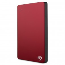Seagate Backup Plus Slim 2TB Portable External Hard Drive USB 3.0, Red (STDR2000203)