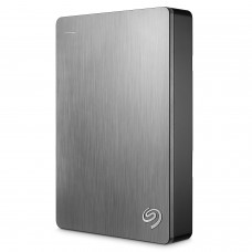 Seagate Backup Plus 5TB Portable External Hard Drive USB 3.0, Silver (STDR5000201)