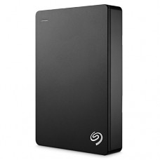 Seagate Backup Plus 5TB Portable External Hard Drive USB 3.0, Black (STDR5000200)