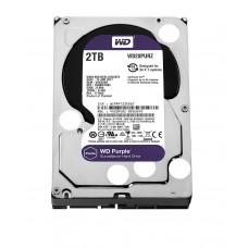 """WD Purple 2TB Surveillance Hard Disk Drive SATA 6 Gb/s 64MB Cache 3.5"""" - WD20PURZ"""