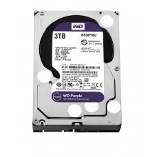 """WD Purple 3TB Surveillance Hard Disk Drive SATA 6 Gb/s 64MB Cache 3.5"""" - WD30PURZ"""