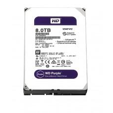"""WD Purple 8TB Surveillance Hard Disk Drive SATA 6 Gb/s 128MB Cache 3.5"""" - WD80PURZ"""