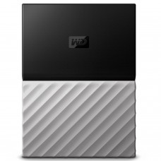 WD 3TB My Passport Ultra Portable External Hard Drive - USB 3.0 - Black-Gray - WDBFKT0030BGY-WESN
