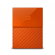 WD 1TB Orange USB 3.0 My Passport Portable External Hard Drive (WDBYNN0010BOR-WESN)