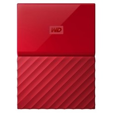 WD 1TB Red USB 3.0 My Passport Portable External Hard Drive (WDBYNN0010BRD-WESN)