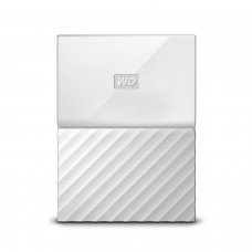 WD 1TB White USB 3.0 My Passport Portable External Hard Drive (WDBYNN0010BWT-WESN)