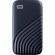 Western Digital 1TB My Passport SSD External Portable Drive, Midnight Blue, Up to 1050 MB/s - WDBAGF0010BBL-WESN