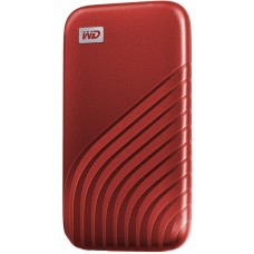 Western Digital 1TB My Passport SSD External Portable Drive, Red, Up to 1050 MB/s - WDBAGF0010BRD-WESN